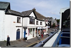 Bowness from bus