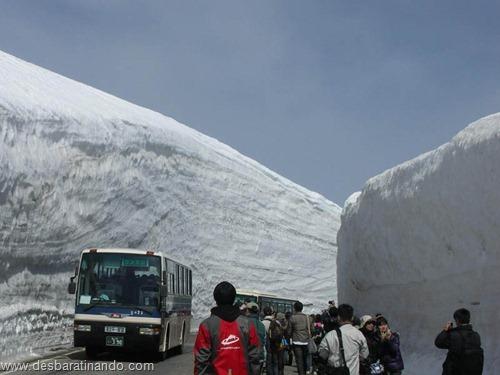 parede de neve 20 metros japao desbaratinando  (2)