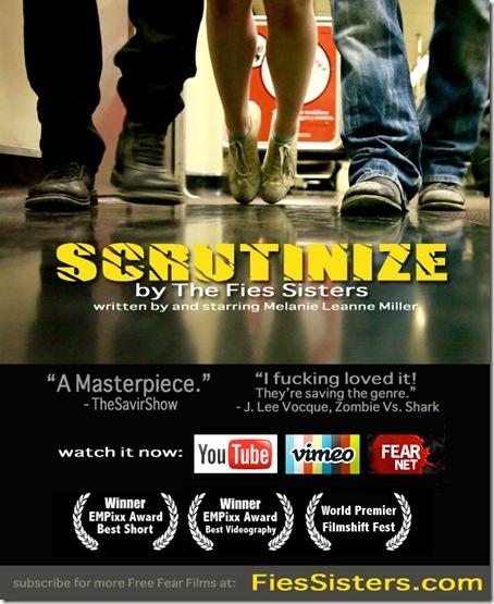 scrutinize
