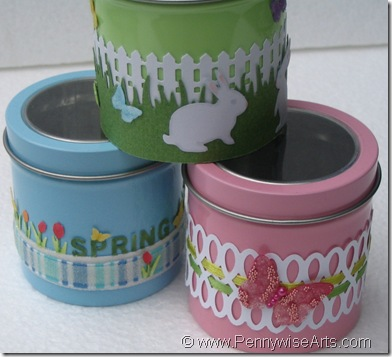 Spring Tins by Eunice