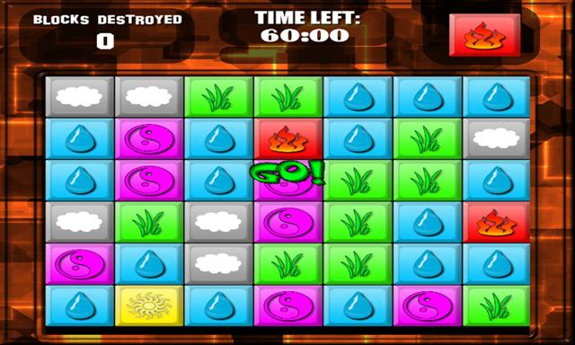 لعبة تدمير المكعبات Blocks Destroyed