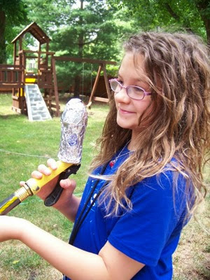 A Water Rocket from KC Edventures