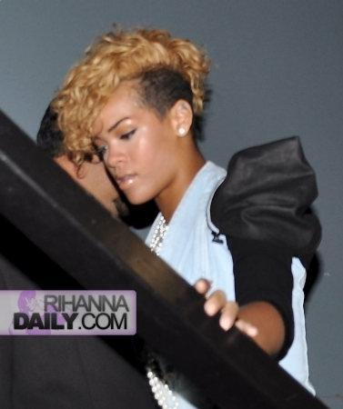 Celebrity Hairdo Rihanna New Hairstyle