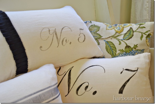 number pillows ps