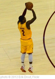 'Kyrie Irving Shooting' photo (c) 2012, Erik Drost - license: http://creativecommons.org/licenses/by/2.0/
