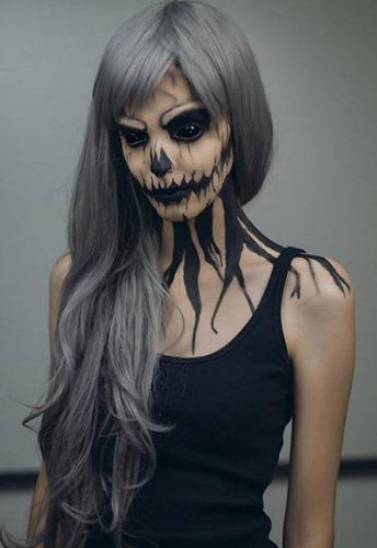 maquillaje miedo disfracesfaciles (7)