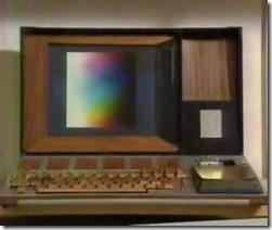 Maketa přenosného počítače ze začátku sedmdesátých let (Xerox PARC).