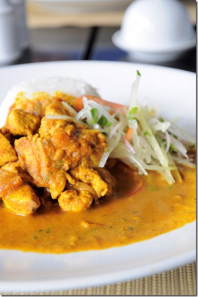 pollo al curry, l'originale