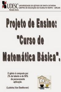 Curso de Matemática Básica, por UDESC