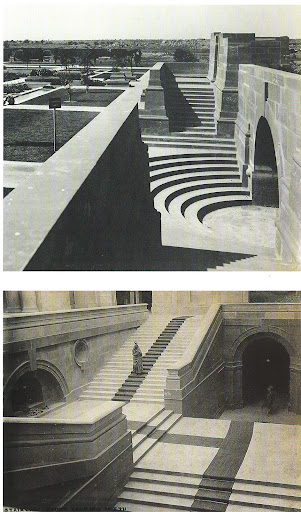 These historic stairs and entrances are just splendid to look at.