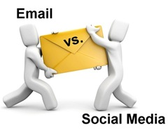 Email Marketing Vs. Social Media Marketing