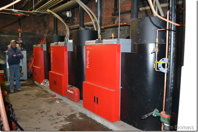 3 Froling P4 Fully Automatic Pellet Boilers