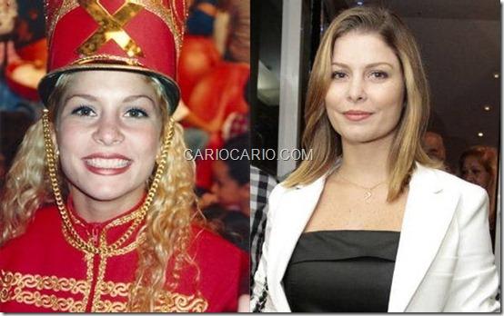 Bárbara Borges, a Babunitona, continua na televisão. Hoje atriz, Bárbara estrela a novela 'Balacobaco', na Record, na pela da personagem Diva Paranhos.