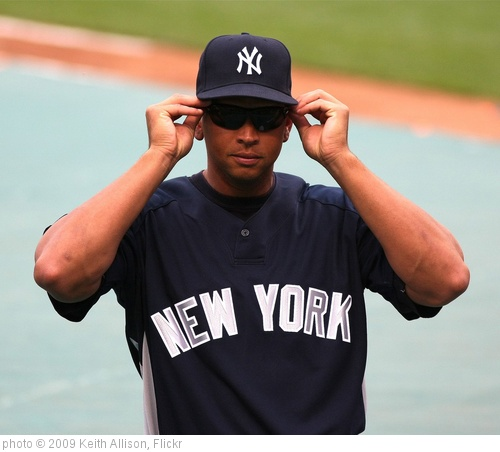 'Alex Rodriguez' photo (c) 2009, Keith Allison - license: http://creativecommons.org/licenses/by-sa/2.0/