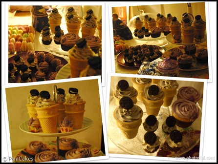Sweet Table Pam Cupcakes
