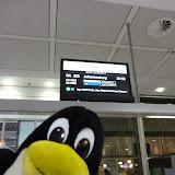 In München am Flughafen - gleich geht es los!
