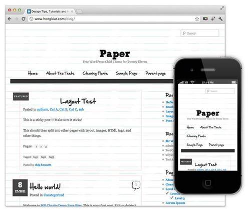 paper-theme-wordpress