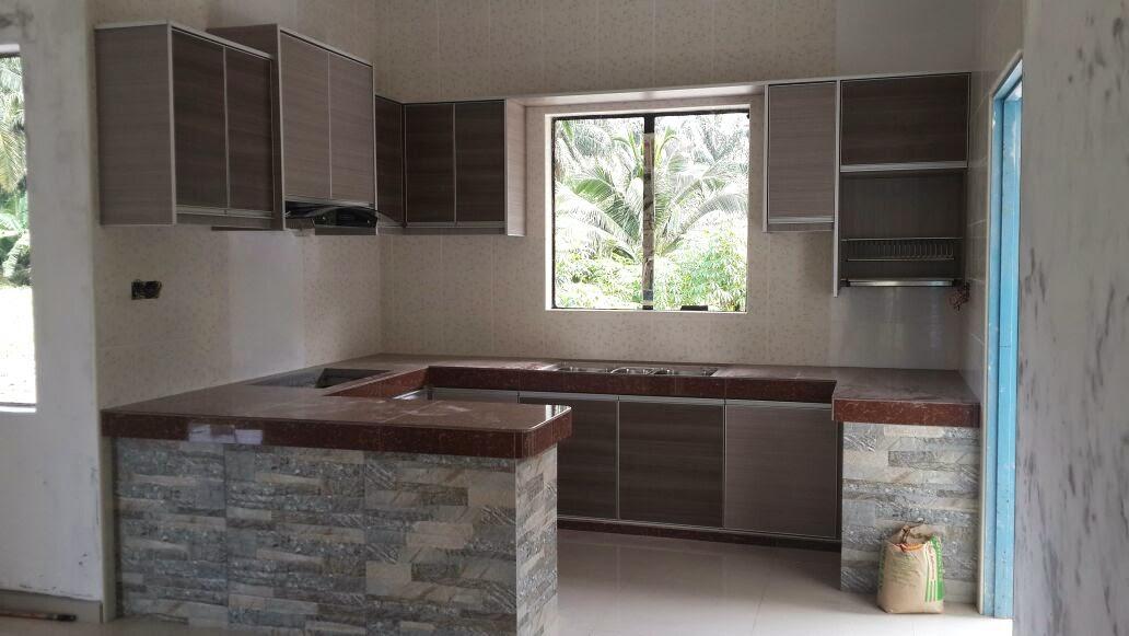 kabinet dapur terus dari kilang dapur cantik sg pelek sepang