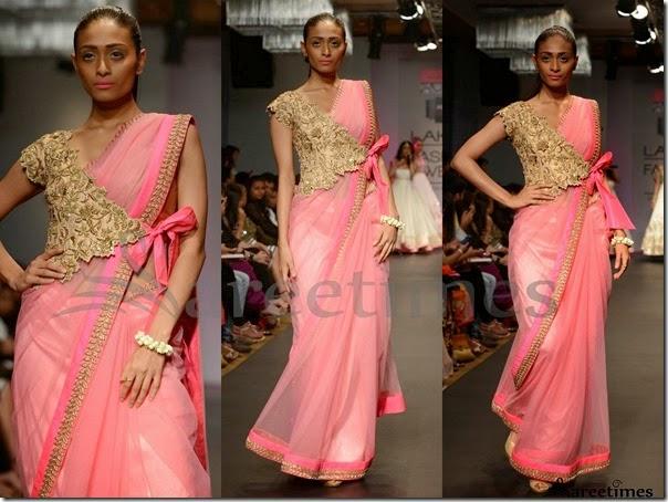 Anushree_Reddy_Pink_Saree