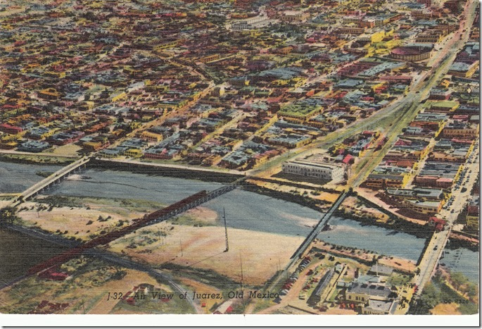 Air View of Juarez, Old Mexico Pg. 1