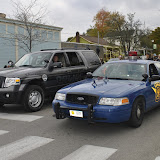The Boyne City Police and Michigan State Police show their support on Halloween