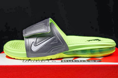 nike air lebron slide 3 volt 2 02 Air LeBron Slide 3 Elite Uses a Classic Dunkman Look