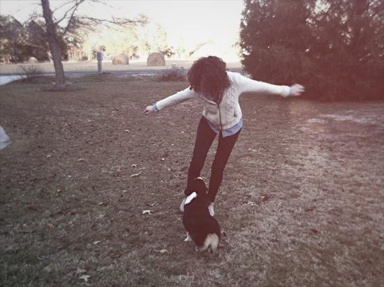 Chloe+Puppy