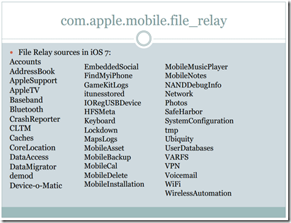 service: com.apple.mobile.file_relay