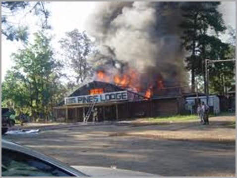 big pines lodge fire 2009