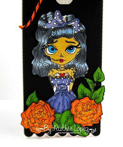 Lacy Sunshine - Myra Mains - Dia de Muertos Tag - Ruthie Lopez. 2
