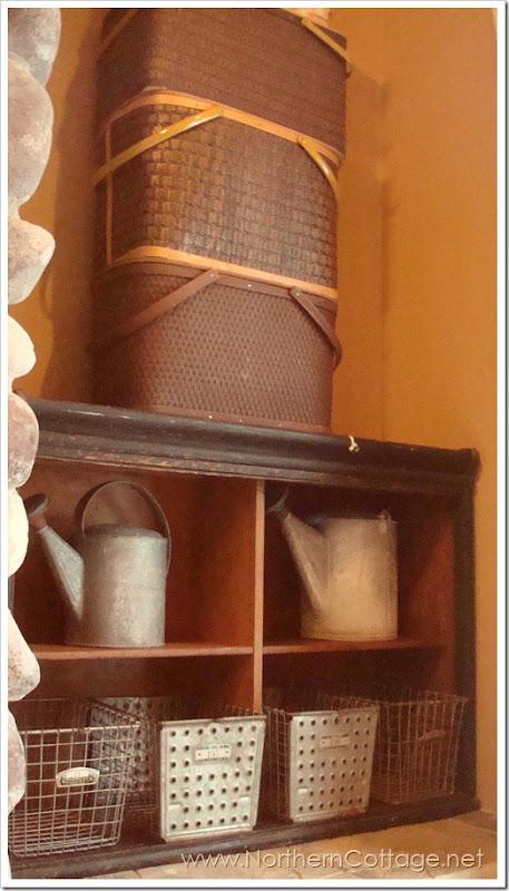 northern cottage shelves