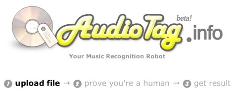 AudioTag info  your music recognition robot
