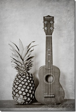 Pineapple Ukelele Pretty Petal