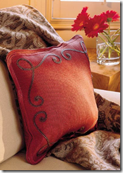 Throw and pillow - Southern Living