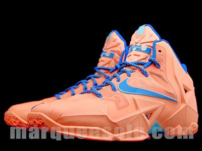 nike lebron 11 gr hardwood knicks 1 04 First Look at Nike LeBron 11 Hardwood Classic / Knicks