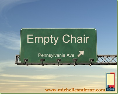 empty chair penn ave