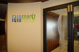 The rainforest in the Senses Spa