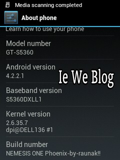 Upgrade] [CUSTOM ROM] [KERNEL] Samsung Galaxy Y (GT-S5360) to Jelly