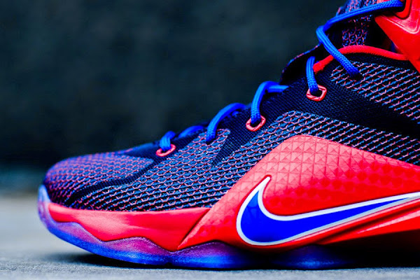 This New LeBron 12 GS Adds New Posite Pattern More Mature Than Men8217s