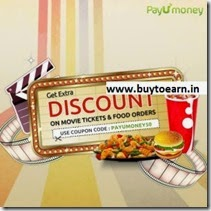 BookMyShow, TicketNew, Domino's, JustEat, TastyKhana, Foodpanda Rs. 50 off on Rs. 150. 100 off on 300 at PayUMoney