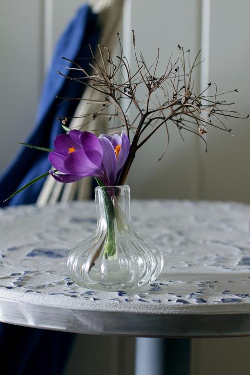Blomst bord hengekøye