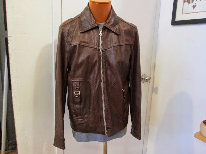 Dolce & Gabbana Leather Motorcycle Jacket