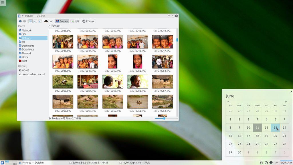 KDE Plasma Next Beta 2