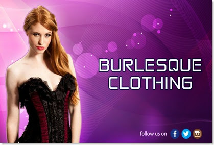 Burlesque clothing