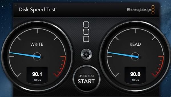 HD-PCT500U3-BCの転送速度