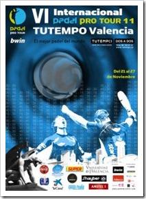Arranca en Valencia Bwin PPT: última plaza para el Máster Padel Pro Tour 2011.