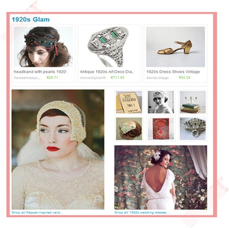 Semplicemente Perfetto Wedding Etsy 2013 1920 trend matrimonio veneto treviso
