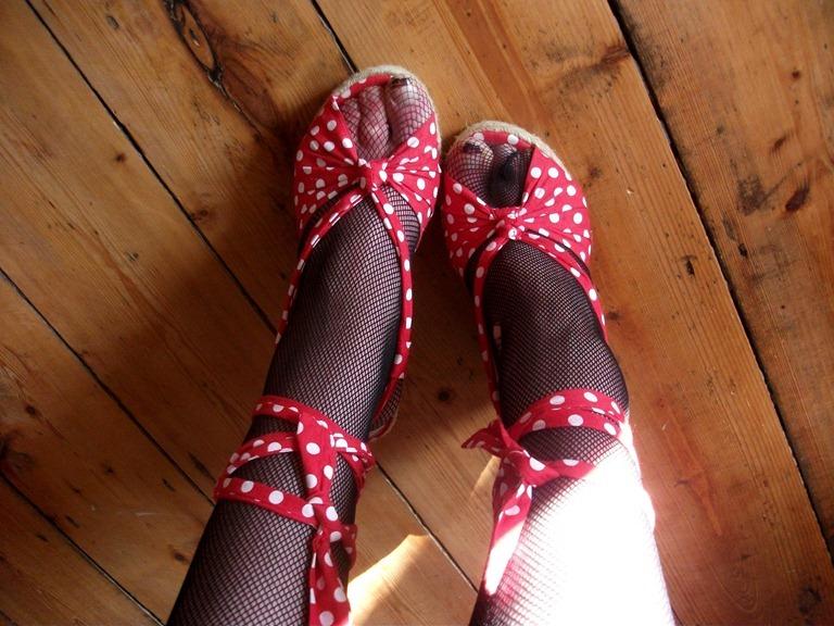 Polka Dot Heels Style Blogger