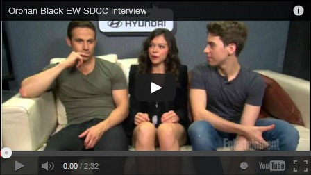 Orphan Black EW Cast interview