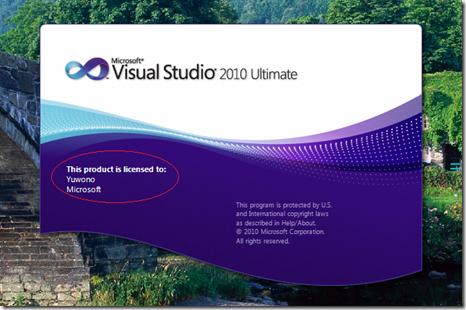 Cara Aktivasi Visual Studio 2010.8